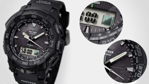 Часы Casio PRG-550 с барометром и компасом