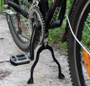 Подножка на велосипед