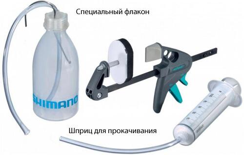Прокачка гидравлических тормозов
