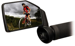 Зеркало в руль велосипеда