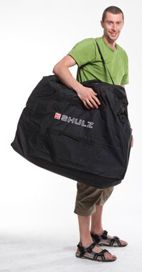 Сумка для складного велосипеда, сумка для перевозки велосипеда