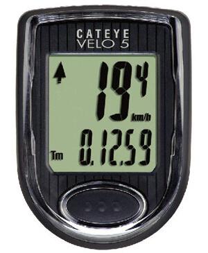Велокомпьютер cateye velo 5