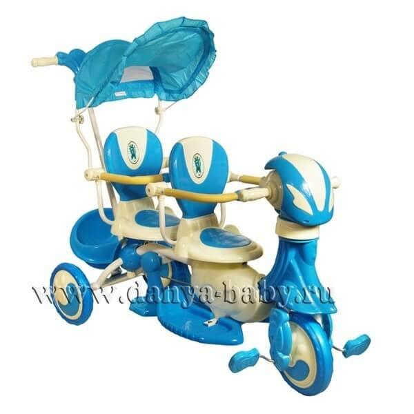 Велосипед для двойни amalfy-twin