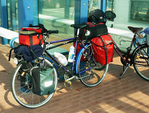 Туристический велосипед для туризма (туринг)