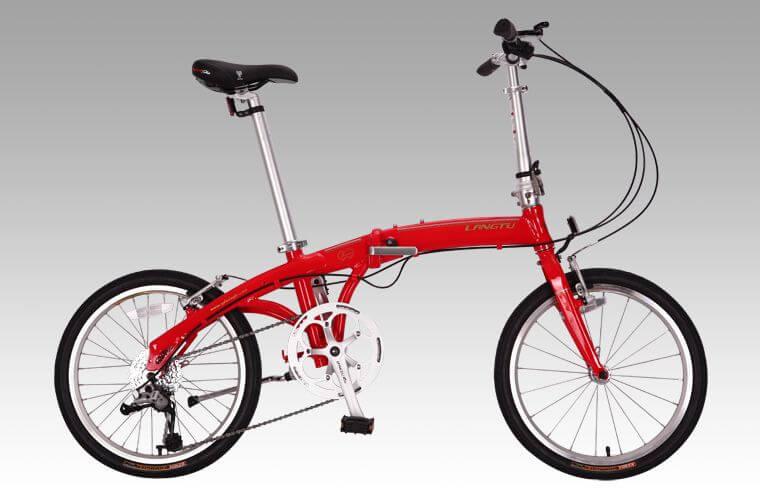 Складной велосипед LangTu