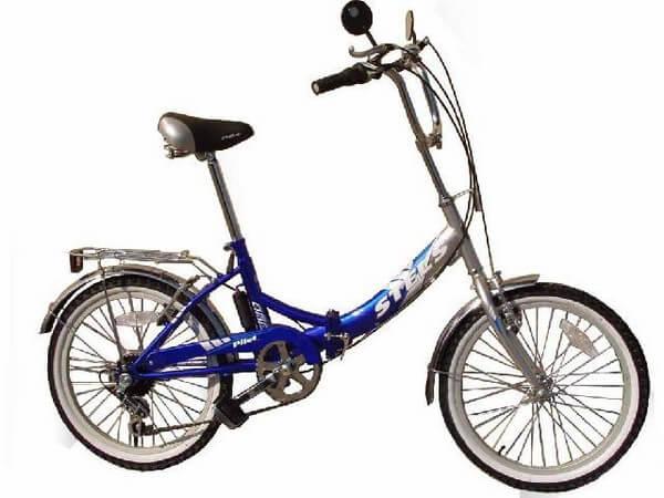 Складной велосипед стелс