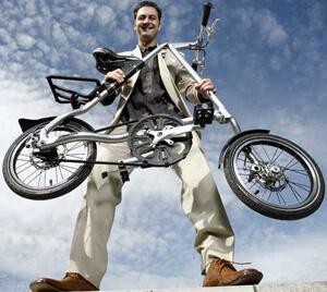 велосипед складной strida