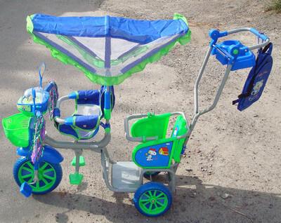 велосипед двухместный детский