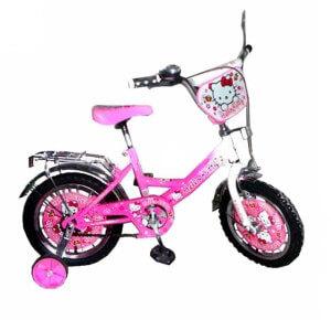 Велосипед с дополнительными колесами для ребенка 4-х лет
