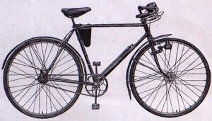 """велосипед для туристических поездок ХВЗ """"Турист"""" В-31"""