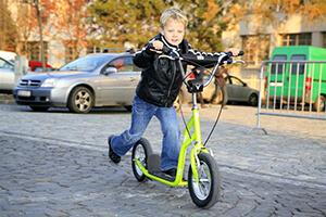 детские самокаты с большими колесами (с надувными шинами), отзывы владельцев