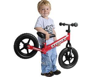 детский двухколесный беговел Strider