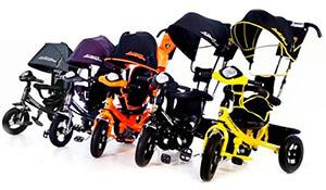 детский трехколесный велосипед lamborghini