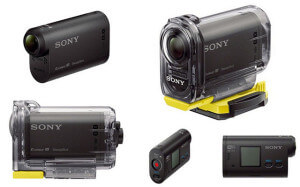 Экшн камера Sony HDR-AS15