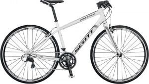 шоссейный велосипед марки scott