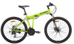 складной велосипед stark cobra disc