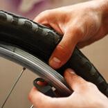 Как снять покрышку с колеса велосипеда