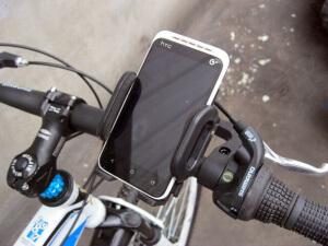 Держатель на велосипед для смартфона
