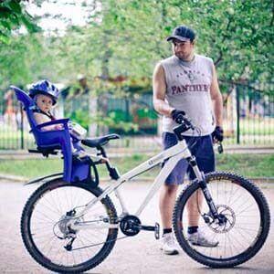 Детское велокресло bellelli