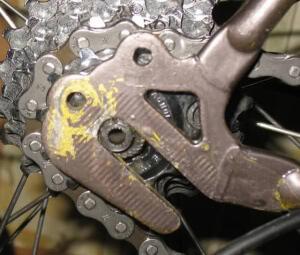 Наклонный дропаут велосипеда