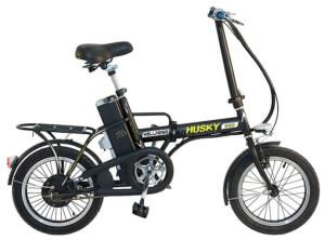 Взрослый складной велосипед Wellness Husky 350