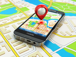 Смартфон с gps навигатором работающим без интернета