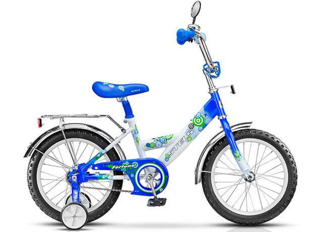 Детский велосипед с дополнительными колесиками Orion Fortune