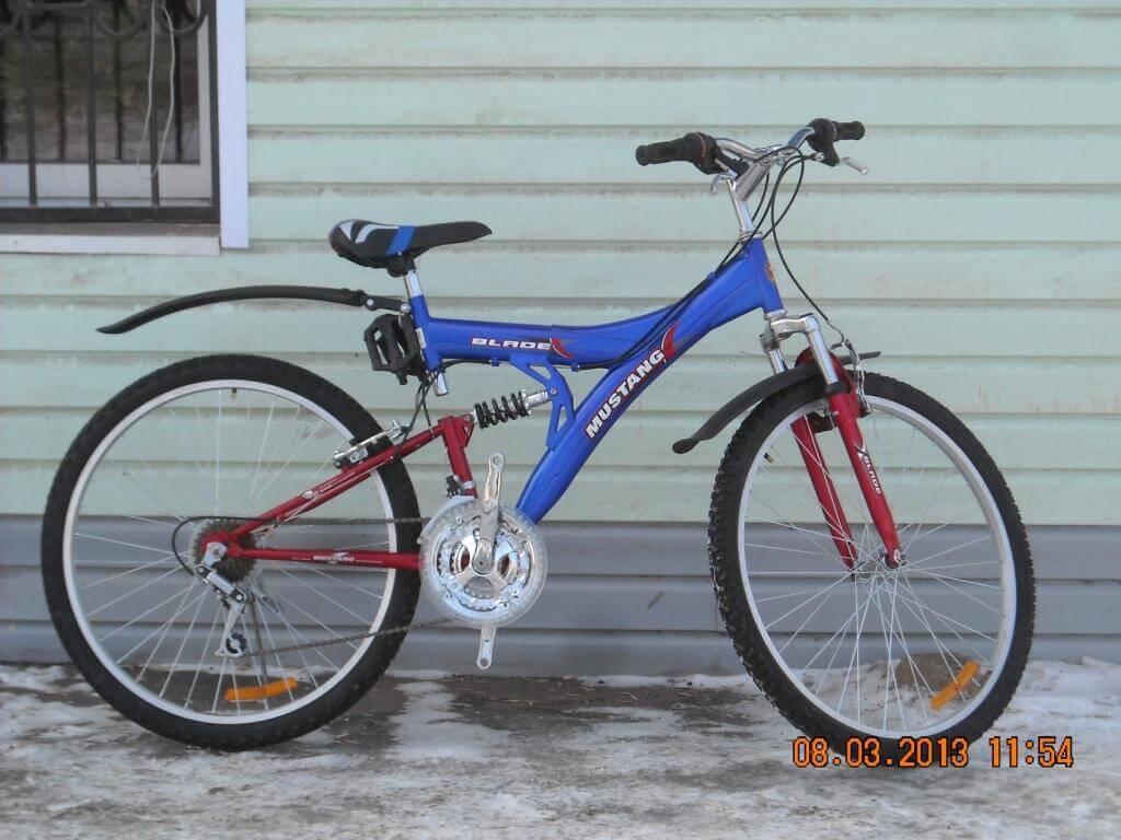 Велосипеды mustang