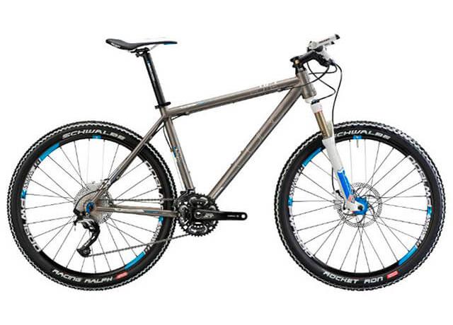 MTB велосипед для кросс-кантри Cube Elite HPT с титановой рамой