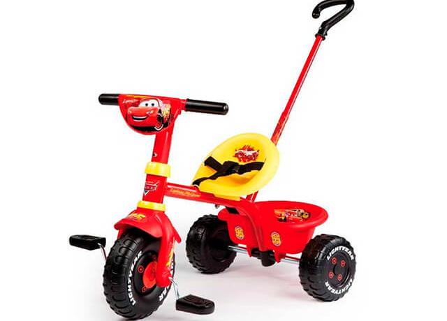 Детский трехколесный велосипед Smoby Be Fun Cars
