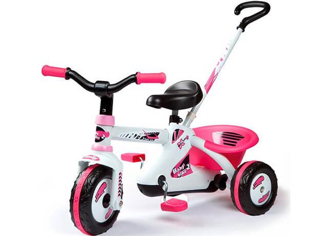 Детский трехколесный велосипед Smoby First Bike Sport Line