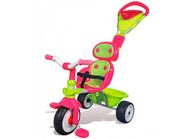 Детский трехколесный велосипед Smoby Sport