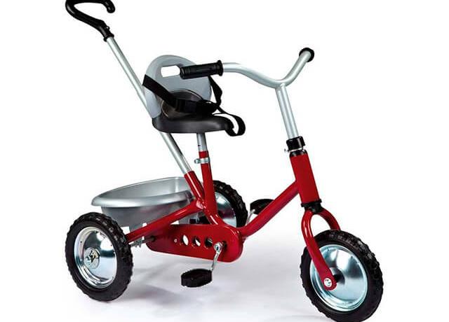 Детский трехколесный велосипед Smoby Zooky Classique