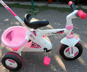 Трехколесный детский велосипед Smoby