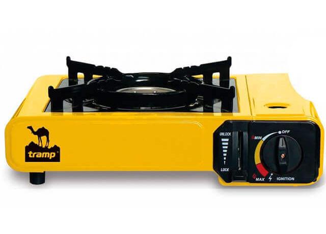 Газовая туристическая плита Intertool GS-0001