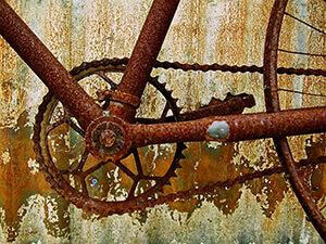 Как очистить ржавый велосипед