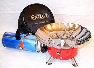 Походная туристическая газовая плита с керамической горелкой
