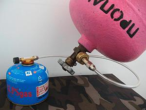 Правильная заправка туристических газовых баллонов в домашних условиях