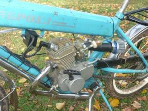 Велосипед с мотором на бензине F80