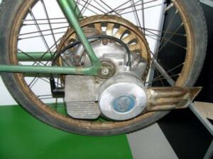 Бензиновый велосипед с веломоторм Весна20