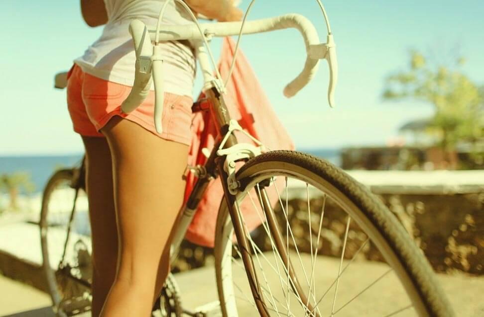 велосипед мышцы ног
