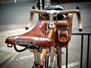 Кожанные седла brooks для велосипеда